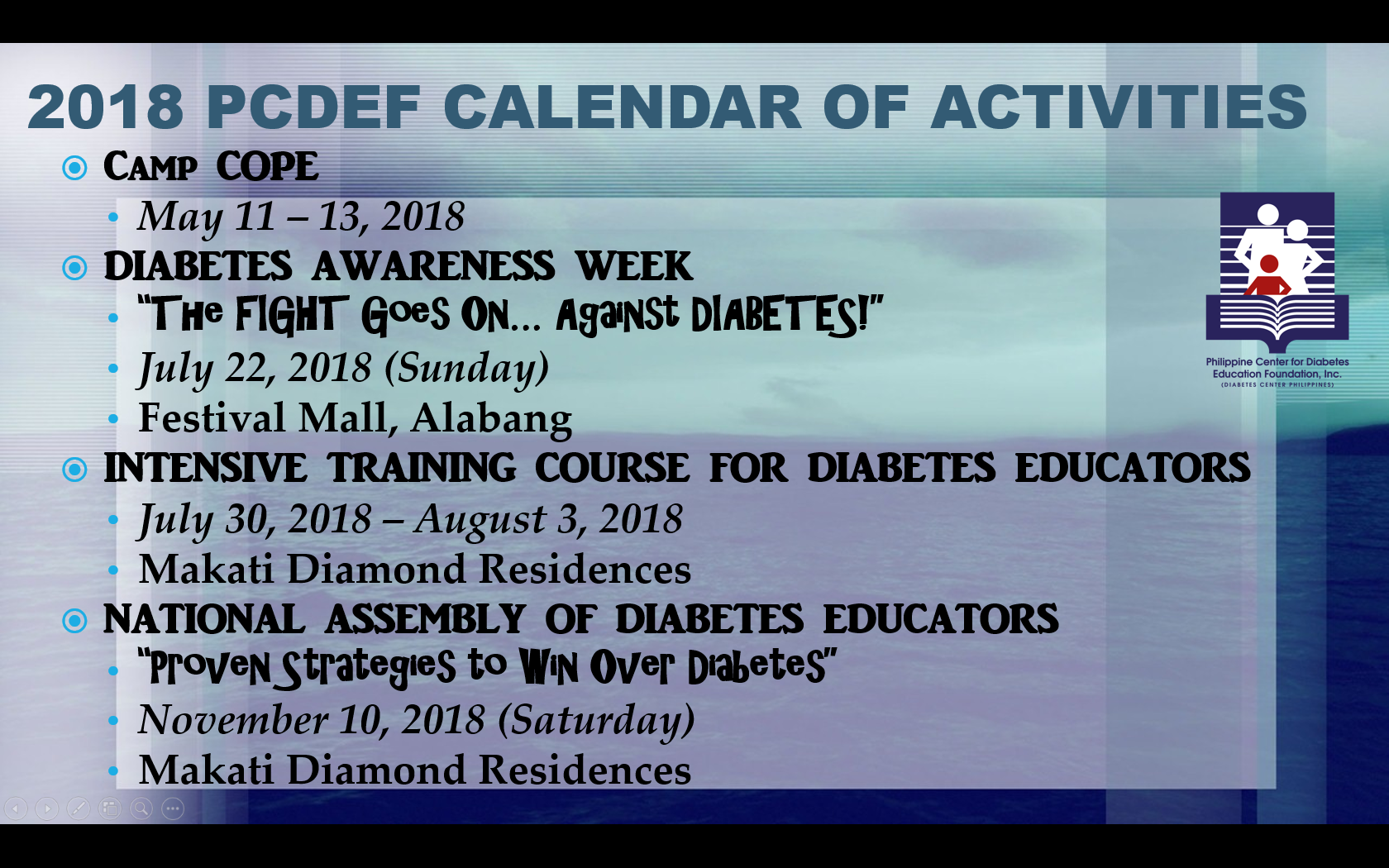 Philippine center for diabetes education foundation inc article of the month 1betcityfo Image collections